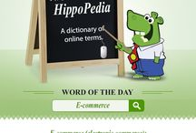 HippoPedia / A Glossary of Online Terms.It will help you to enrich your knowledge of the terms which are popularly used in the Online world.