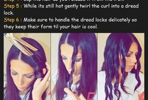 Hair stuff and that