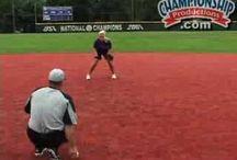 Softball defense