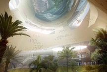architecture futuristic