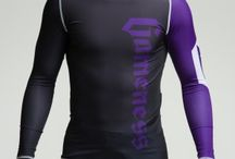 Purple Long-Sleeve Pro Rank Rash Guard / The Gameness Logo Rash Guard features comfortable and strong flat lock stitching, dyed-into-the-fiber graphics that will never peel or fade, and moisture wicking fabric.