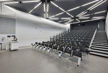 Spigo Products & Projects / Spigo acoustic wood range available in a variety of wood or painted finishes - available in the UK from Acoustic GRG #acoustics #panels #wood @spigogroup