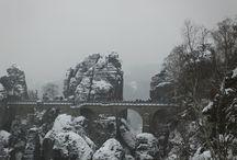 Зимний Бастей / Бастей. #Тур по зимней #Германии. Ожившая сказка
