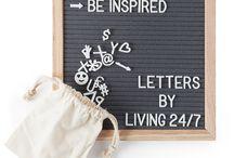 Letter Boards