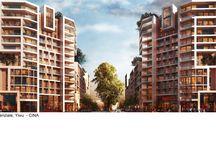 Condomini - Edifici Residenziali / Progettazione condomini ed edifici residenziali, architettura di qualità e sostenibile.