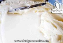 Foods-Cake recipes frostings