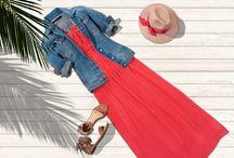 Maxikleider / Lang und luftig: Maxikleider sind wunderbare Essentials für den Sommer. Die bodenlangen Kleider und Röcke umschmeicheln die weibliche Silhouette. Die Gleichung ist einfach: Mehr Stoff sorgt für mehr Effekt! Aktuell sind unifarbene Bandeau-Maxikleider und Modelle mit dezenten Cut-Out-Strukturen unsere Favoriten. Bei so viel Details dürfen sich die Begleiter wie Jeansjacke, Sandalen und Strohhut gern zurückhalten. ► http://bit.ly/KONEN-Maxikleider-Sommer16-Pin