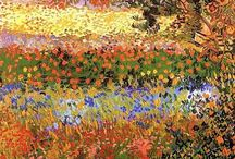Vincent van Gogh and Claude Monet