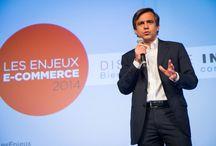 """Les Enjeux e-commerce 2014 / Retrouvez toutes les photos de la conférence """"Les Enjeux e-commerce 2014"""" organisée par la FEVAD et CCM Benchmark."""