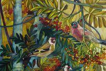 Malarstwo - ptaki
