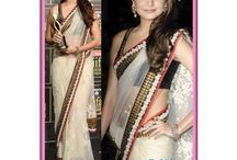 Bollywood Replica Sarees / Jugniji.com : A huge sparkling collection of Indian ethnic wear in our attention-grabbing online showroom whose variety is growing every month.## http://goo.gl/sdGQ3W