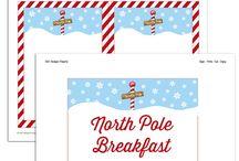 North Pole Breakfast / by Lisa Robinson Bruner
