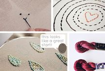 Embroidery / by Stitch it Now