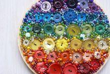 diy buttons :