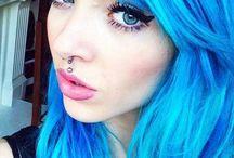 colourful hair :3