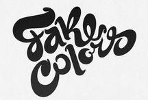 Lettering / by Maggie Leysath