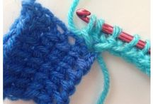 Tunish haken / Tunish crochet
