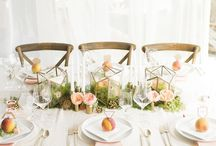 wedding/party tablescapes