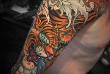tiger tat sleeve