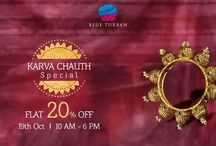 SALE / On the special occasion of Karva Chauth, Blue Turban offers FLAT 20% OFF