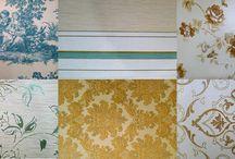 Una pared de patchwork - Patchwork wall