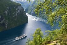 Northern Europe / Journey across ancient Viking routes, fascinating fjords and glaciers, the English Channel, Celtic Kingdoms, and cosmopolitan cities like St Petersburg. Be inspired by the contrast of volcanoes and glaciers in this fairy-tale region of the world!