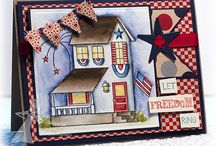 Handmade Patriotic Cards / Handmade Patriotic cards that made Polished Moxie want to wave the Stars and Stripes of Old Glory. #HandmadeCard, #HomemadeCard, #HandcraftedCard, #Card, #CardIdea, #Patriotic, #FourthofJuly, #JulyFourth, #July4th, #4thofJuly, #PatrioticCard, #FourthofJulyCard, #JulyFourthCard, #July4thCard, #4thofJulyCard, #HandmadePatrioticCard, #CardForFourthofJuly, #CardForJuly4th, #CardForJulyFourth, #CardFor4thofJuly, #HandmadeJuly4thCard