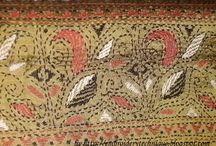 Kantha Patterns and Designs