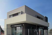 Edificio Commerciale a Palosco (BG) / Edificio Commerciale in legno a Palosco (BG) www.marlegno.it