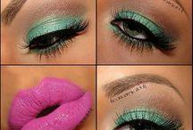 Green as eyeshadow