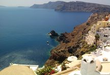 Santorini / amazing landscape and energy