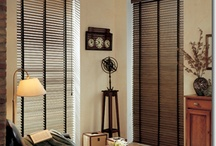 BLINDS & SHUTTERS / Blinds and Shutters available thru Northwest Building Supply. Timberblind Blinds & Exus Shutters