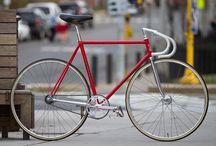 Red Bicycles / Bicicletas rojas... / by Ventura Mendoza