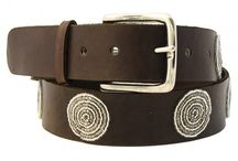 Leather Beaded Belts