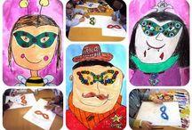 nápady pro děti - karneval, masky