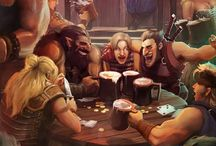 Tavern scenes