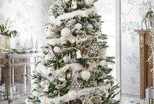 Deco - Noel en blanc / #décorationnoel #deconoel #decorationwhite