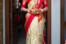 South Indian Bridal attire