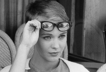 """Anna Laub's Pretty Prism / """"My ultimate glasses-wearers are people like Johnny Depp and Yves Saint Laurent, whose glasses really add to their look rather than detract from it, as well as actresses like Sixties icon Jean Seberg or Charlotte Gainsbourg - and also Kelis who really wears them in a contemporary style."""" / by BPCM"""