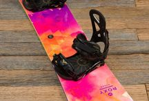 Snowboards/boots/riders