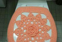 tampa de crochet