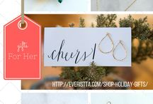 Give Glam: Holiday Gifts / A curated list of available holiday gifts for her and for kids. All handmade jewelry. Handmade in New York City.