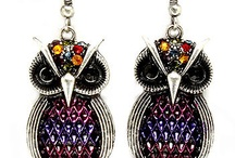 Owl Earrings / by SouthernOwl Boutique