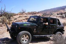 Limestone jeep / Alberta Jeep