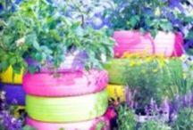 Garden: Tires / by DeLona Naron