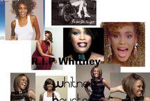 RIP Whitney / by Rebecca