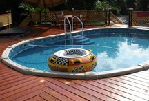Swimming pool decks / by Leana Dabney