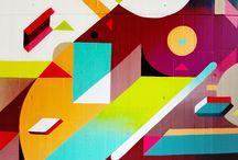 Artistic murals