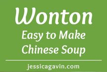 Wonton soup recipes