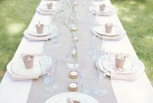 Wedding Reception Decorations / by Christina Marie